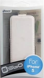 SX71 /APH5-560-WITE/Iphone5/5S FlapCase Blanc