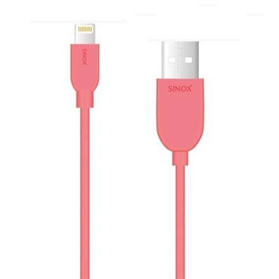 Lightning M/ USB 2.0 A Synch/Charge 1.00 m Rose (certifié apple)