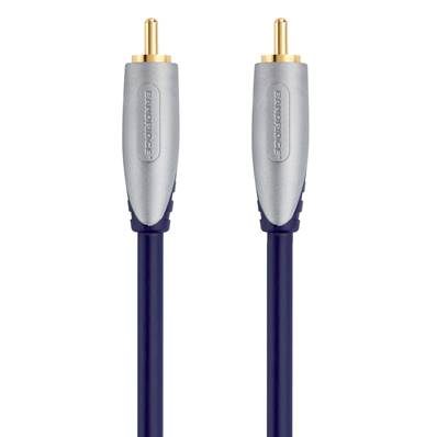 SAL4805 Câble audio dig. coax. RCA Male - RCA Male 5.00m