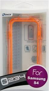 SX38 /SGS4-234-ORNG/Samsung GS4 Bumper Orange