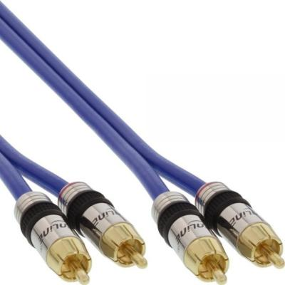 Câble Audio 2 RCA M/M 20.00m