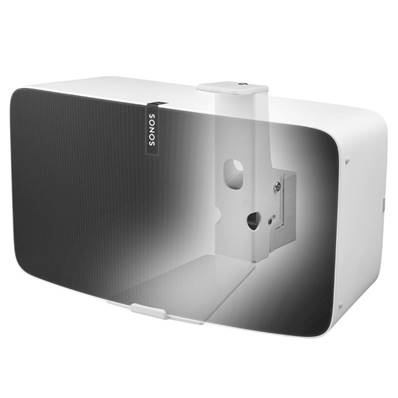 Support mural horizontal pour enceinte SONOS FIVE & Play:5 Blanc