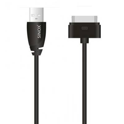 Apple 30 pin USB A M 1.00 m Noir
